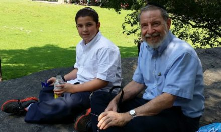 REFLECTIONS ON THE FIRST YAHRZEIT OF A GRANDSON
